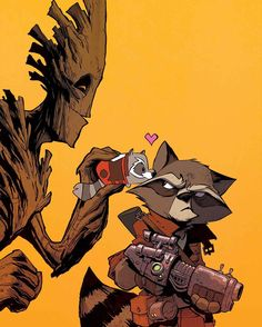 ROCKET RACCOON & GROOT #8 NICK KOCHER (W) Michael Walsh (A) Cover by DAVID LOPEZ MARVEL TSUM TSUM TAKEOVER VARIANT BY BRIAN KESINGER