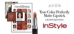 InStyle Magazine helps you match a Red Carpet Cocoa lipstick to your skin tone. mark. Brand Ambassador Lucy Hale rocks the Avon Perfectly Matte Lipstick in Marvelous Mocha to play off the cool pink undertones in her medium-fair skin.