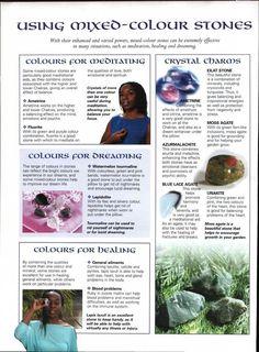 Mixed color stones