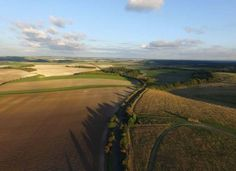 Flying high over the country side - such a peaceful picture. Thank you @ReeceMannings