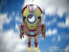'Los minions' como Iron Man, Hulk y otros personajes de la cultura popular