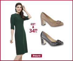 Klasik şıklığın vazgeçilmeyen parçaları! #fashion #fashionable #style #stylish #polaris #polarisayakkabi #shoe #shoelover #ayakkabı #shop #shopping #women #womanfashion #moda #womenstyle #topukluayakkabı #şıklık #zarafet #sade #stil