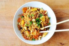 Pineapple Fried Rice is the dish I most commonly order when getting take-out from my favorite Asian restaurant. The version they make is full of exotic flavors and is packed with vegetables you...