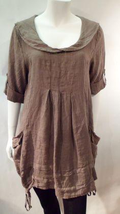 Pure Linen Tunic