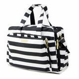 Are you an over packer? Do you have more than one in diapers? Twins? How 'bout the perfect bag for overnight trips…or the airplane? Kitchen sink not included...but would probably fit, if needed. Dimen