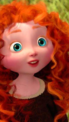Merida - New Ideas Walt Disney, Disney Nerd, Brave Disney, Kawaii Disney, Cute Disney, Disney And Dreamworks, Disney Pixar, Disney Characters, Brave Wallpaper