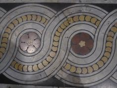 Floor Mosaic - Duomo di Siena. Siena Italy