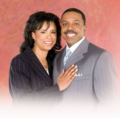 Pastor's Creflo and Taffie Dollar