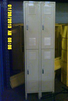 Used Lyon Half Door Lockers Lockers For Sale, Used Lockers, Door Locker, Half Doors, Personal Storage, Lyon, Locker Storage