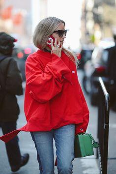 New York Fashion Week streetstyle: Vetements x Champion