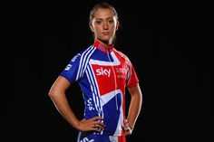 My new favourite sportsperson, Laura Trott. Double Olympic gold medallist.