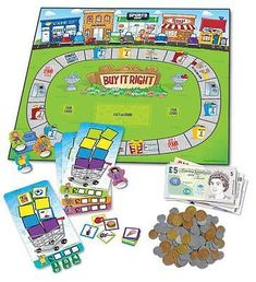 Buy Learning Resources Buy it Right Shopping Game from BrightMinds. Leading UK Online Educational Kids Gifts and Childrens Toy Shop for Learning Resources Buy it Right Shopping Game Shopping Games For Kids, Time Games For Kids, Money Activities, Activities For Kids, Learning Resources, Fun Learning, Times Tables Worksheets, Math Poster, Numbers For Kids