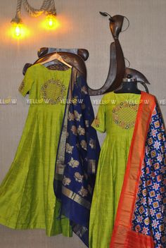 Team it with a banaras dupatta or Ikkat dupatta they will design it perfect for you !! Kindly write to teamyellow@yellowkurti.com or whatsapp to 7995038888 for Inquiries !