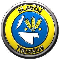 Slavoj Trebisov - Football logo - Slovakia Soccer Logo, Football Soccer, European Countries, Juventus Logo, Czech Republic, Team Logo, Logos, Sports, Football Squads