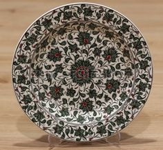 High quality Turkish plate for Kitchen or any room wall decoration or for food serving use items. Hanging Plates, Plates On Wall, Turkish Plates, Turkish Design, Shops, Ceramic Painting, Lotus Flower, Lead Free, Mud