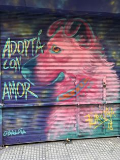 Adoptá con amor #graffiti #arte #pintura #buenosaires