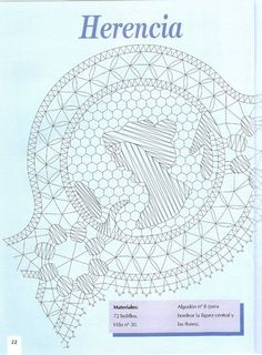 Labores de Bolillos 02 Bobbin Lace Patterns, Diagram, Album, Crafts, Macrame, Bobbin Lacemaking, Crocheting, Needlepoint, Hand Fans