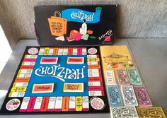 #Vintage 1967 #CHUTZPAH #Yiddish #Jewish Board Game by What-cha-ma-call-it Inc. #games #boardgames #boardgame