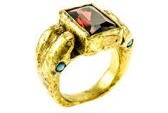 Red Serpent Ring, 8 | Wanderlust Glam | One Kings Lane
