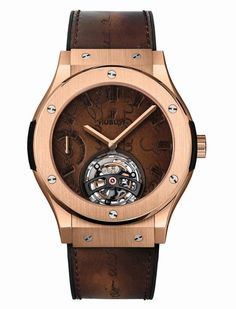 afcc77aa3ec Hublot comemora a arte da fusão revelando 2 relógios exclusivos com a  Berluti. WEB LUXO