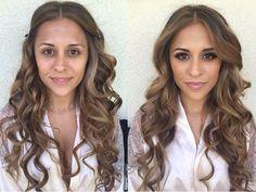Wedding day.  Bridal hair & makeup.  Hair: @zaleyrae  Makeup: @penelopevazquez