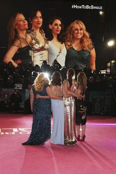 Pin for Later: The Ladies of How to Be Single Are as Thick as Thieves at Their Big London Premiere