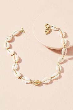 Lena Bernard Cowrie Shell Choker Necklace