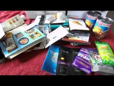 Received Free Samples for November 2013 *Video