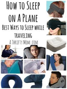How to Sleep on a plane Best ways to sleep while traveling – A Thrifty Mom – Recipes, Crafts, DIY and more – travel outfit plane long flights Packing Tips For Travel, Travel Essentials, Travel Hacks, Airplane Essentials, Traveling Tips, Travel Advice, Travel Guide, Travelling, Air Travel