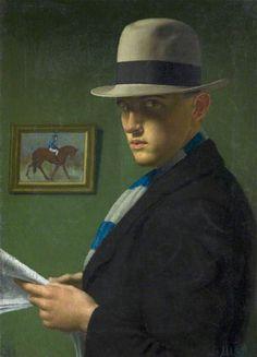 John Luke (Irish, 1906 – 1975) - The Tipster, 1928