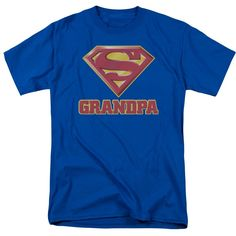 DC Comics Superman Grandpa T-Shirt