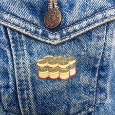 Vintage 6 pack Budweiser Pin