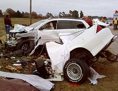 Volvo XC90 versus a Camaro at 90 mph. The Volvo driver walked away. A state trooper, doctor, insurance agent and paramedic involved all bought Volvo's as a result. I would too, if I didn't already have one.