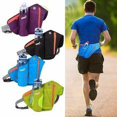 Unisex Accessories Sport Water Bottle Holder Belt Bag For Running Jogging Cycling Waist Pack Pouch Running Pouch, Running Belt, Trail Running, Running Gifts, Marathon, Jogging, Color Militar, Unisex, Bracelet Sport