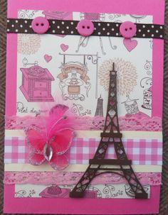 Scarpbook card Paris