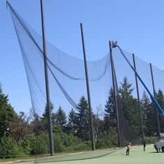 Netting by square foot, cut to order nets, any size sport netting, nylon nets, nylon pe nets