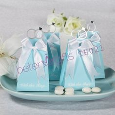Wedding Engagement Ring Favor Box