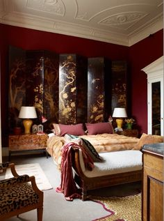 Eclectic Bedroom in London, GB by Douglas Mackie