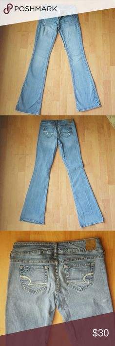American Eagle stretch jeans My favorite jeans by American Eagle.  Artist fit in stretch Demin.  Perfect jeans for every woman. American Eagle Outfitters Jeans Boot Cut