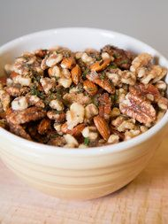 Christina Tosi's grammy-certified rosemary nuts