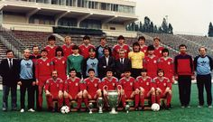 Steaua Bucuresti - 1986 Football Team, Romania, All About Time, Sports, Life, Football Equipment, Football Squads, Sport