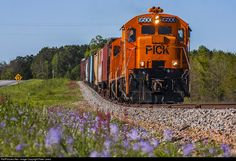 RailPictures.Net Photo: PICK 9500 Pickens Railroad GE U18B at Anderson, South Carolina by Peter Lewis