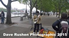 Nile Rodgers Busking in London
