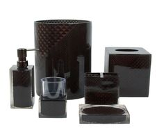 Prizm 6 Piece Bath Accessory Set