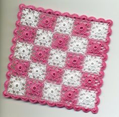 Dollhouse Miniature Afghan Bedspread Throw by BlackLeopardCreation, $17.00