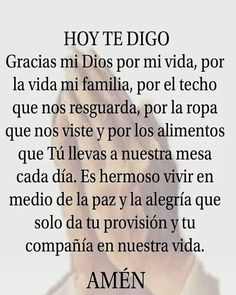Prayer Verses, God Prayer, Prayer Quotes, Faith Quotes, Catholic Quotes, Religious Quotes, Catholic Prayers In Spanish, Text Messages Love, Christian Quotes Images