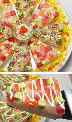 海鮮ちらし寿司☆ひな祭り・子供の日に♪ by とんがりおむすび [クックパッド] 簡単おいしいみんなのレシピが236万品