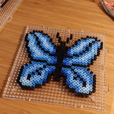 Butterfly hama perler beads by kerthan72