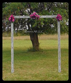 DIY Wedding Arch/Country Wedding Decor/Rustic Wedding Arch/Outdoor Wedding Arch/Weathered/Shipping Included!