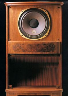 TANNOY RHR/N Listened to an impressive and very skillfully home built version of this one. Deeply convincing.